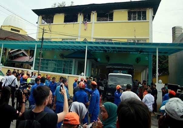 فيديو: 25 قتيلا على الأقل في حريق شب بدار لتحفيظ القرآن في ماليزيا