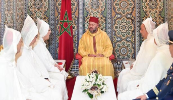 خادم الحرمين الشريفين يكلف رئيس الوفد الرسمي المغربي إبلاغ تحياته وتقديره للملك محمد السادس