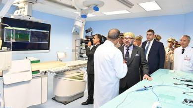 Photo of الملك يدشن مركز طب القلب بالمستشفى العسكري الدراسي محمد الخامس بالرباط