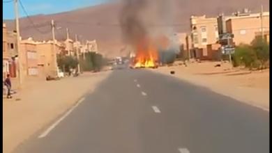 Photo of فيديو: انفجار قنينات الغاز داخل شاحنة بتنغير