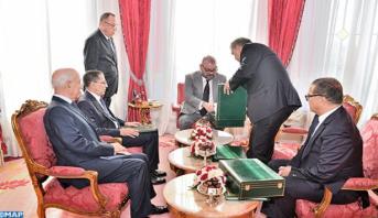 Photo of الملك محمد السادس يستقبل رئيس الحكومة ووزير الداخلية ووزير الاقتصاد والمالية والرئيس الأول للمجلس الأعلى للحسابات