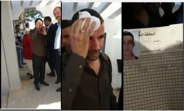 Photo of كارثة أخرى: تلميذ يعتدي على أستاذ في ثانوية بالرباط (شاهد الفيديو)