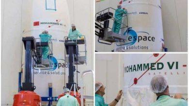 """Photo of فيديو: لحظة إطلاق القمر الصناعي """" محمد السادس"""" نحو الفضاء"""
