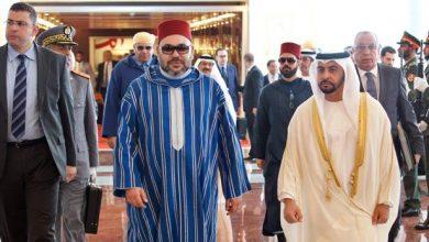 Photo of الملك محمد السادس يهنئ مدرب المنتخب الوطني والفريق