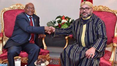 Photo of الملك محمد السادس يستقبل بأبيدجان رئيس جمهورية جنوب إفريقيا