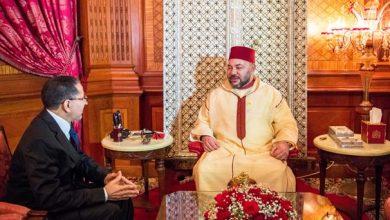 Photo of الملك محمد السادس يهنئ العثماني بمناسبة انتخابه أمينا عاما لحزب العدالة والتنمية