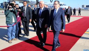 Photo of فيديو: الوزير الأول البرتغالي يصل إلى الرباط في زيارة عمل للمملكة