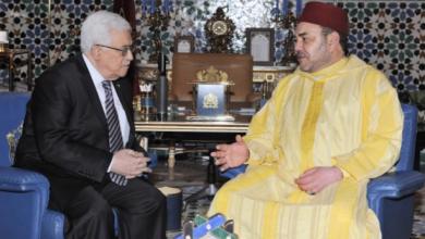 Photo of بلاغ الديوان الملكي .. الملك محمد السادس يجري اتصالا هاتفيا مع رئيس السلطة الفلسطينية
