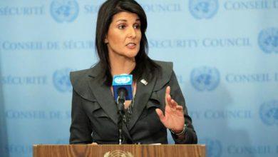 Photo of نيكي هايلي تهاجم الرئيس الفلسطيني في الأمم المتحدة