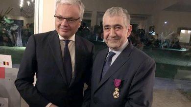 Photo of بلجيكا توشح ادريس اليزمي بأعلى وسام بلجيكي