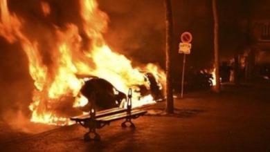 Photo of فرنسا: أعمال شغب وحرق نحو ألف سيارة ليلة رأس السنة