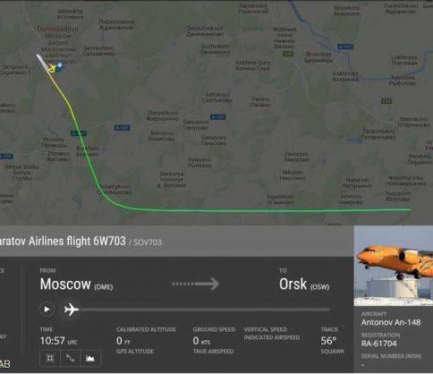 فيديو: أول فيديو من موقع سقوط الطائرة الروسية المنكوبة
