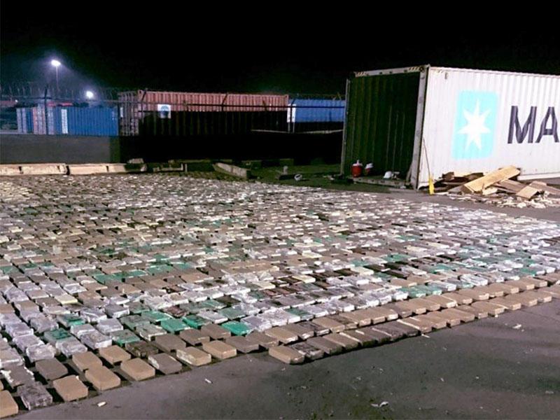 فيديو: تفاصيل الإيقاع بشبكة برازيلية حاولت إدخال 541 كيلوغراما من الكوكايين