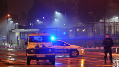 Photo of مونتينيغرو ..هجوم انتحاري قرب السفارة الاميركية