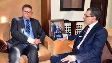 Photo of رئيس الحكومة يبحث مع نائب رئيس البنك الإفريقي للتنمية أوجه التعاون الثنائي المثمر