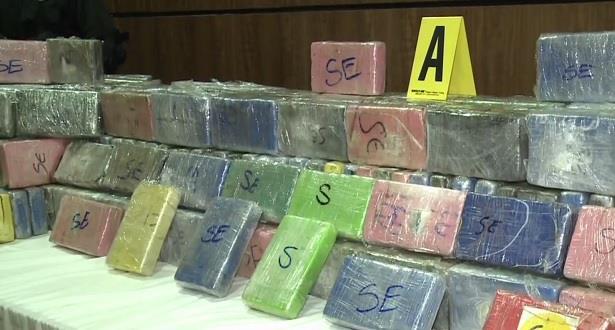 بلاغ المكتب المركزي للأبحاث القضائية حول الخبرة العلمية على عينات من مخدر الكوكايين المحجوز بميناء الدار البيضاء