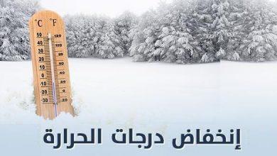 Photo of بالأرقام وأسماء المدن: درجات الحرارة الدنيا والعليا المرتقبة غدا الأحد