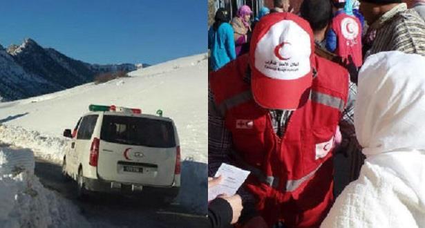 الهلال الأحمر المغربي يخصص مساعدات لفائدة 3500 أسرة موزعة على سبعة أقاليم