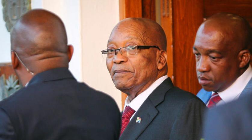 """فيديو: الحزب الحاكم في جنوب إفريقيا يقرر عزل """"زوما"""" من رئاسة البلاد"""