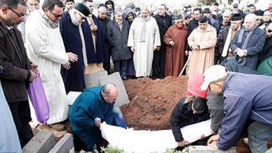Photo of تشييع جثمان عبد الجليل فنجيرو المدير العام الأسبق لوكالة المغرب العربي للأنباء