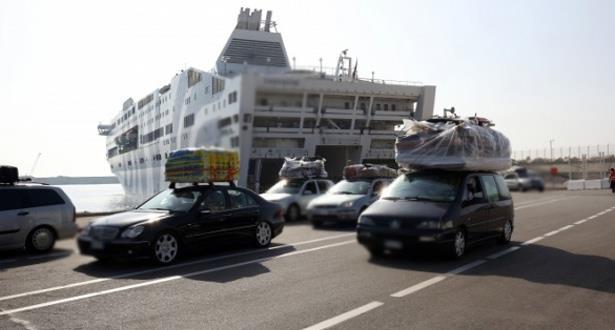 حجز كمية كبيرة من مخدر الشيرا بميناء طنجة المتوسط
