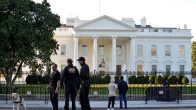 Photo of رجل يطلق النار على نفسه أمام البيت الأبيض واستنفار أمني كثيف