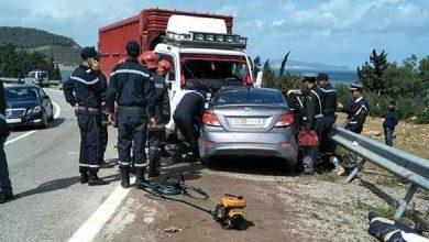 Photo of مصرع أربعة أشخاص في حادثة سير ضواحي تطوان