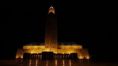 Photo of فيديو للحظة إطفاء أضواء مسجد الحسن الثاني بالدار البيضاء