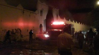Photo of حريق مهول بسوق الثلاثاء بجماعة إنزكان يأتي على حوالي 200 محلا تجاريا