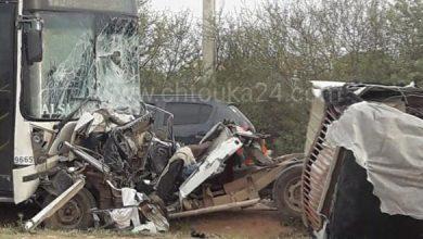 Photo of مصرع 9 أشخاص وإصابة 6 آخرين في حادثة سير بإقليم اشتوكة-آيت باها