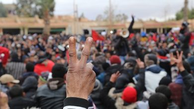 Photo of فيديوهات من قلب الحدث: هكذا هي سلمية احتجاجات جرادة