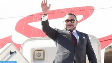 Photo of الملك يغادر برازافيل في ختام زيارة عمل وصداقة لجمهورية الكونغو