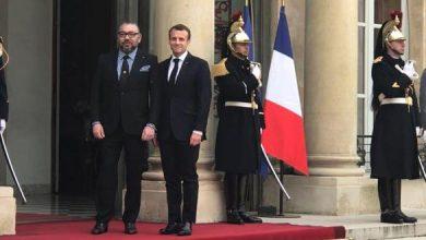 Photo of الملك محمد السادس يلتقي الرئيس الفرنسي إيمانويل ماكرون بقصر الإيلزيه
