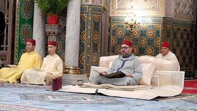 Photo of أمير المؤمنين يترأس الدرس الرابع من سلسلة الدروس الحسنية الرمضان