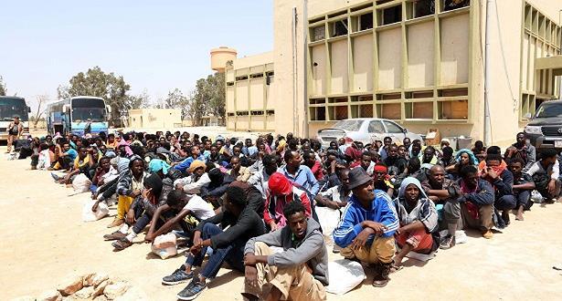 منظمة حقوقية أوروبية تدين حملة الاعتقالات التعسفية الواسعة النطاق للمهاجرين في الجزائر