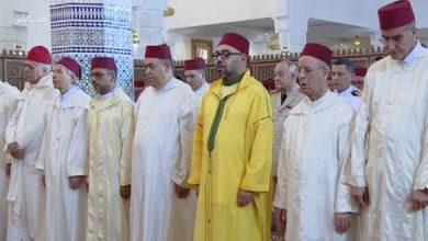 "Photo of أمير المؤمنين يدشن مسجد ""فلسطين"" ويؤدي به صلاة الجمعة"