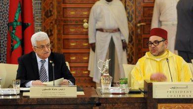 Photo of مباحثات هاتفية بين الملك محمد السادس ورئيس دولة فلسطين