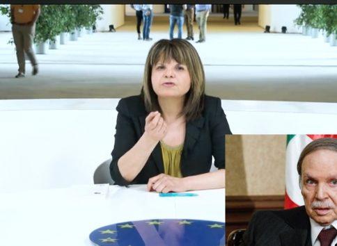 بروكسيل: الإعتداء على الصحافية الجزائرية التي انتقدت نظام بلادها في شريط فيديو