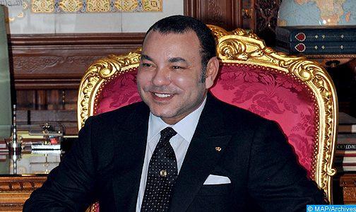 برقية تعزية ومواساة من الملك إلى أفراد أسرة الفنان التشكيلي حسن الكلاوي