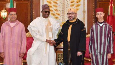 Photo of الملك يجري مباحثات على انفراد مع رئيس جمهورية نيجيريا الفدرالية