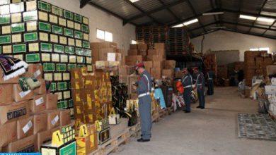 Photo of الدار البيضاء.. حجز أزيد من 600 طن من المواد الغذائية المهربة