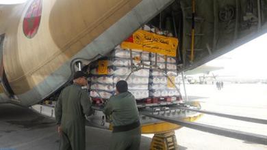 Photo of وصول الشحنة الثانية من المساعدات الإنسانية المغربية الموجهة للشعب الفلسطيني إلى الأردن