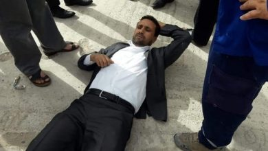 """Photo of حسن بناجح يترامى على اختصاص الحقوقي عبد الحميد أمين """"كبير البوحاطيين المتساقطين"""""""