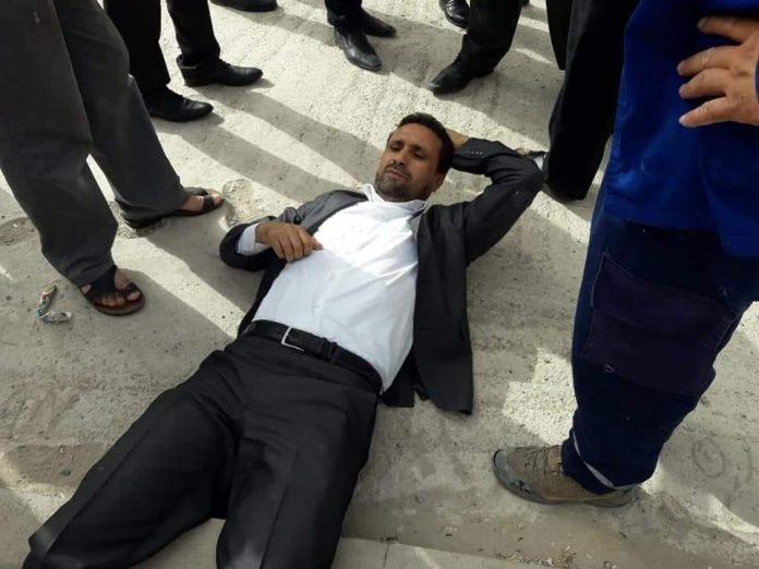 """حسن بناجح يترامى على اختصاص الحقوقي عبد الحميد أمين """"كبير البوحاطيين المتساقطين"""""""