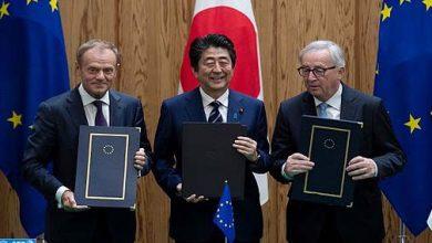 "Photo of الاتحاد الأوروبي واليابان يوقعان اتفاقا ""تاريخيا"" للتبادل الحر"