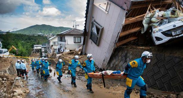 فيديو: حصيلة ضحايا الأمطار الغزيرة في اليابان تصل إلى 156 قتيلا على الأقل