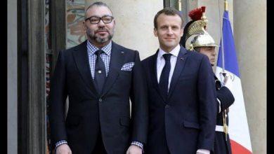 Photo of الملك محمد السادس يهنئ الرئيس الفرنسي بمناسبة فوز منتخب بلاده بنهائي كأس العالم