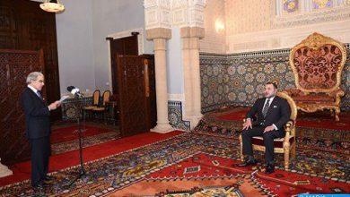 Photo of جلالة الملك يستقبل بالحسيمة والي بنك المغرب