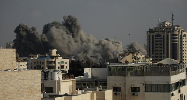 الغارات الإسرائيلية العنيفة على غزة هي الأكبر منذ حرب 2014