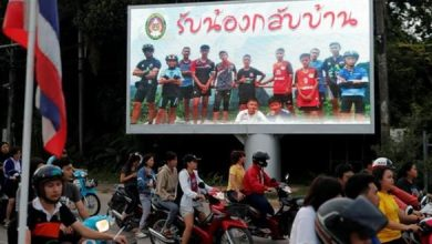 "Photo of كرة القدم تحتفي بإنقاذ ""فتية الكهف"" في تايلاند"